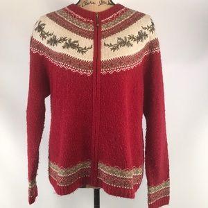 Croft&Barrow winter sweater cardigan szXL